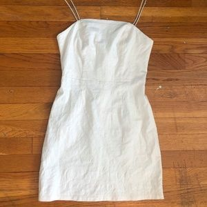 urban outfitters white dress